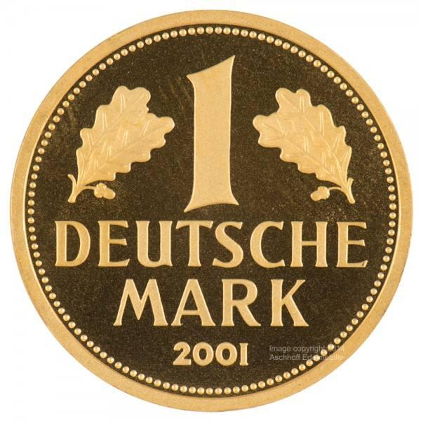 Ankauf: Goldmark Jahr 2001 Goldmünze 12 Gramm (g)