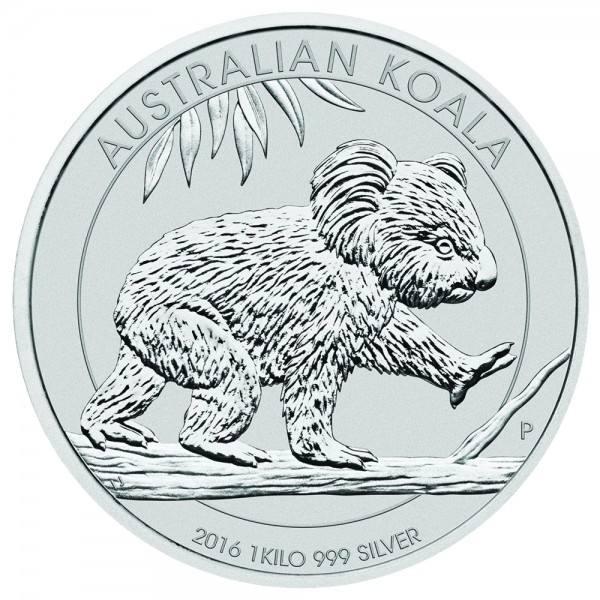 Ankauf: Australian Koala, Silbermünze 1 Kilo (kg), diverse Jahrgänge