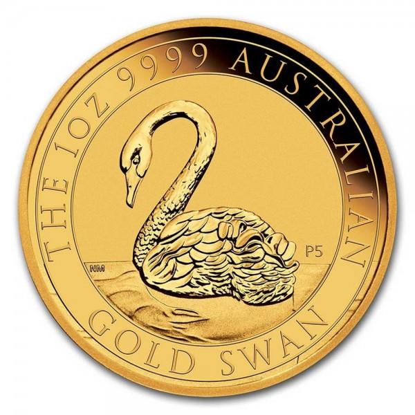 Ankauf: Australian Swan 2021, Goldmünze 1 Unze (oz)