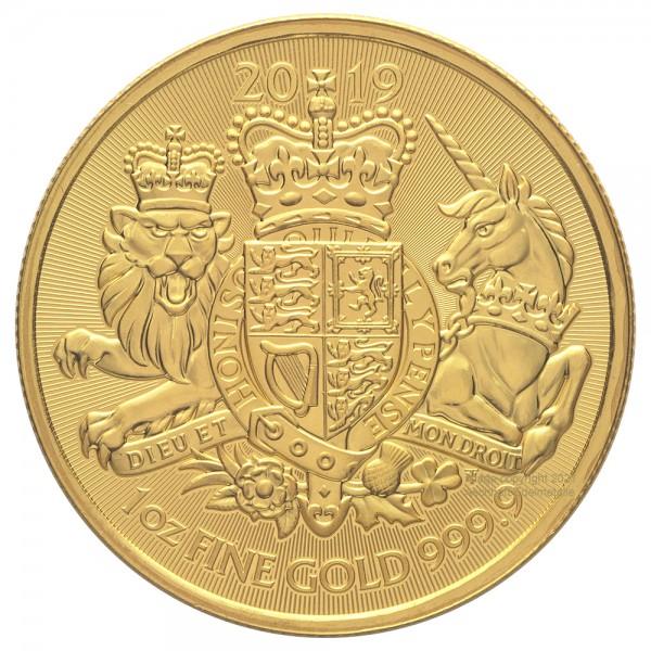 Ankauf: Royal Arms, Goldmünze 1 Unze (oz), diverse Jahrgänge