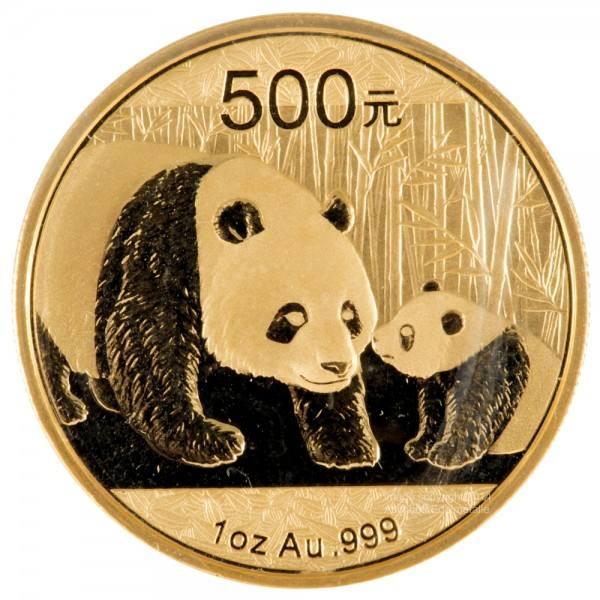 Ankauf: China Panda 2011, Goldmünze 1 Unze (oz)