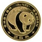 Ankauf: China Panda 1983, Goldmünze 1/4 Unze (oz)