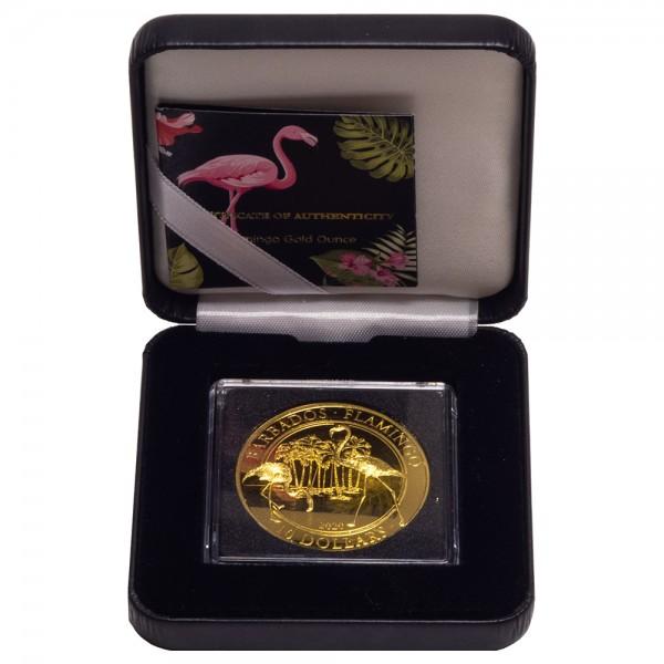 Ankauf: Barbados 2020 Flamingo, Goldmünze 1 Unze ( oz )