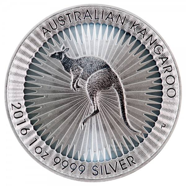 Ankauf: Australian Kangaroo, diverse Jahrgänge, Silbermünze, 1 Unze