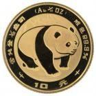Ankauf: China Panda 1983, Goldmünze 1/10 Unze (oz)