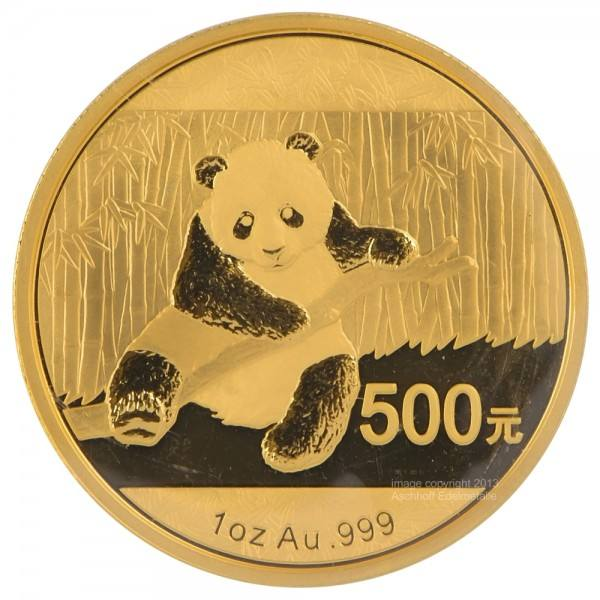 Ankauf: China Panda 2014, Goldmünze 1 Unze (oz)