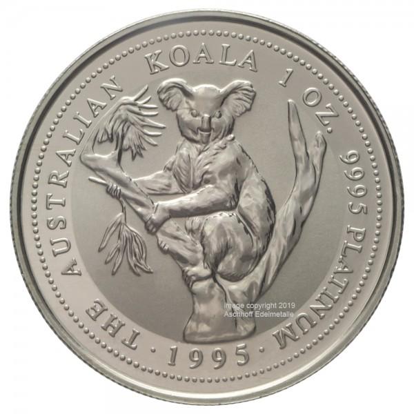 Australian Koala 1995, Platinmünze 1 Unze (oz)