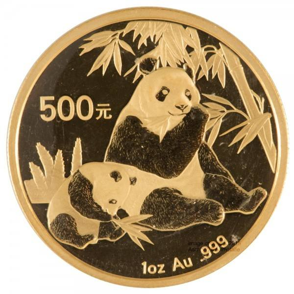 Ankauf: China Panda 2007, Goldmünze 1 Unze (oz)