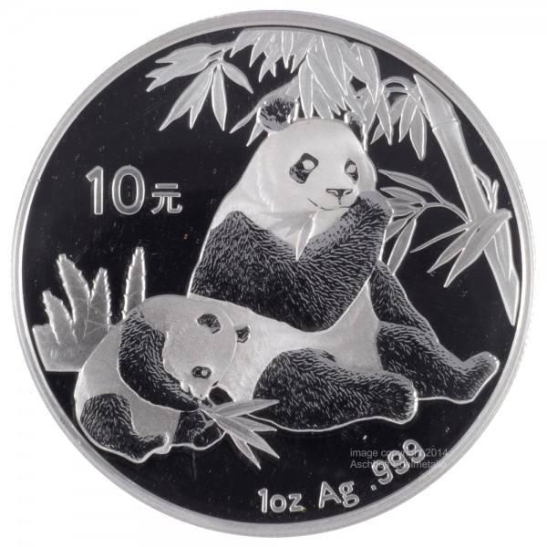 Ankauf: China Panda 2007, Silbermünze 1 Unze (oz)