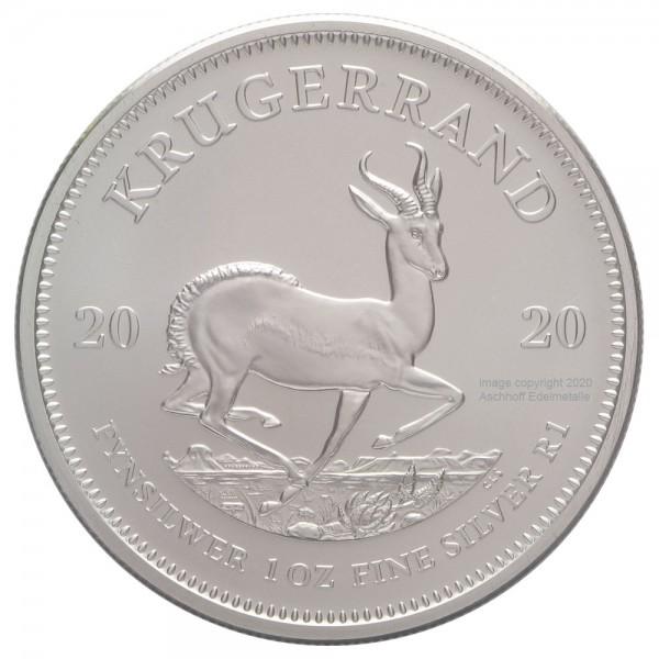 Krügerrand 2020, Silbermünze 1 Unze (oz)