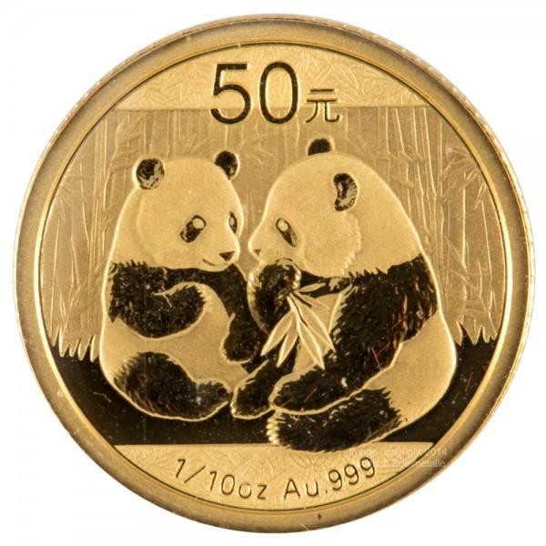 China Panda 2009 Goldmünze 110 Unze Oz Original Folie Aschhoff