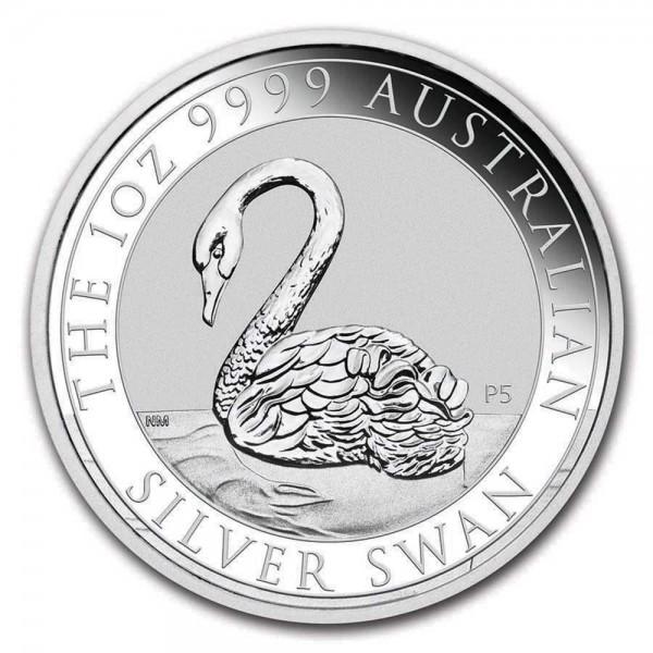 Ankauf: Australian Swan 2021, Silbermünze 1 Unze (oz)