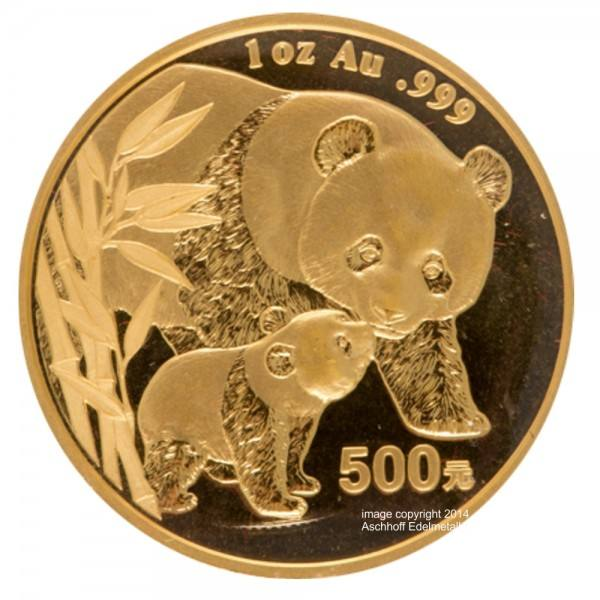 Ankauf: China Panda 2004, Goldmünze 1 Unze (oz)