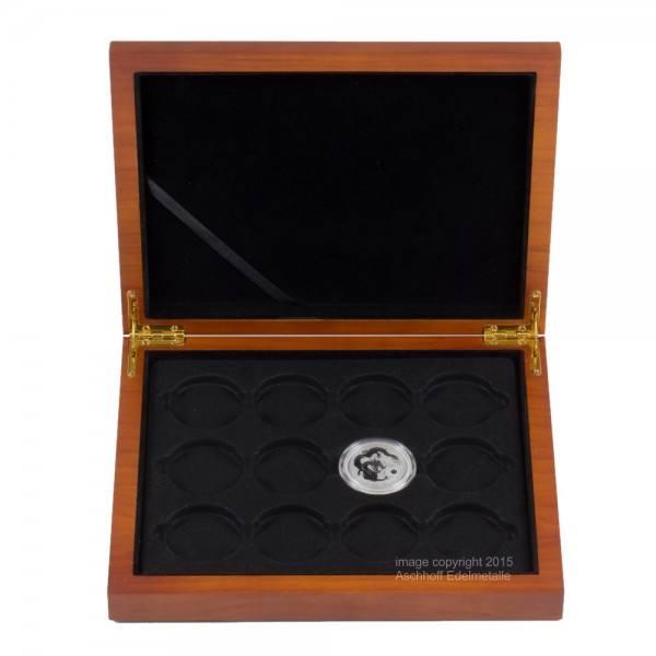 Münzbox für Lunar II Serie 12 x 1/2 Unze (oz) Silbermünzen