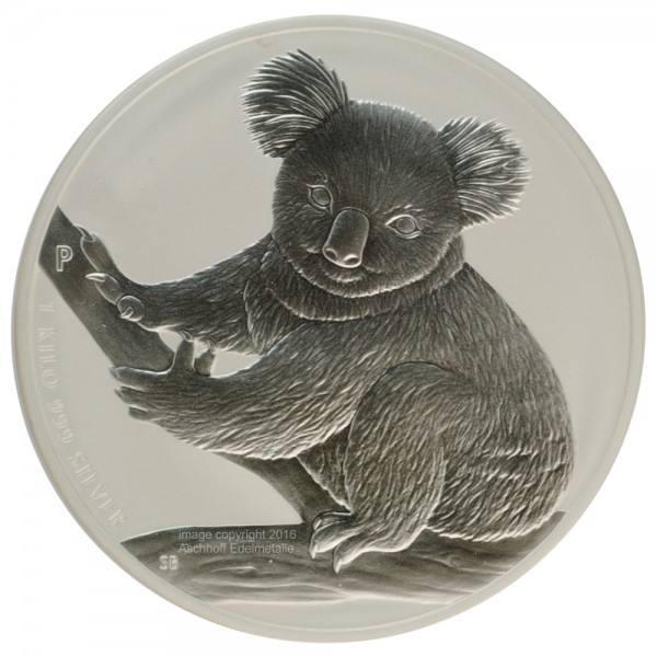 Ankauf Australian Koala 2009 Silbermünze 1 Kilo Kg Aschhoff