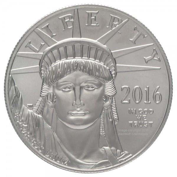 Ankauf: American Eagle, Platinmünze 1 Unze (oz), diverse Jahrgänge