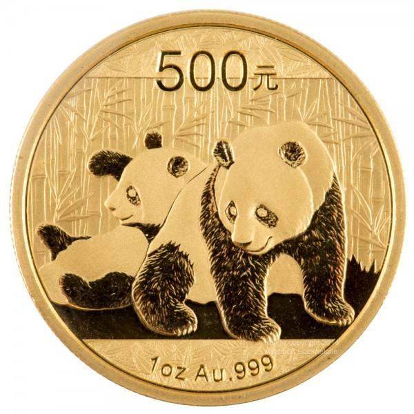 Ankauf: China Panda 2010, Goldmünze 1 Unze (oz)