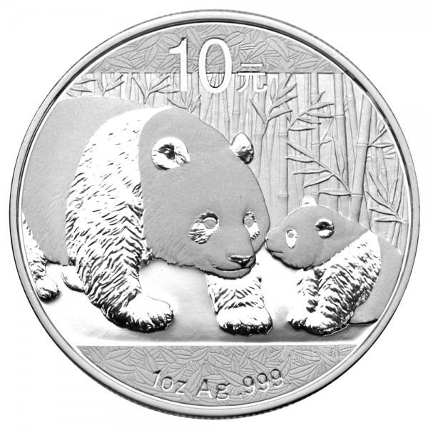 Ankauf: China Panda 2011, Silbermünze 1 Unze (oz)