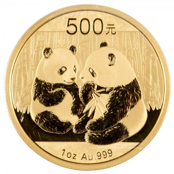 Ankauf: China Panda 2009, Goldmünze 1 Unze (oz)