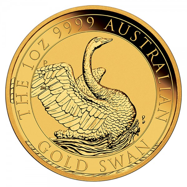 Australian Swan 2020, Goldmünze 1 Unze (oz)