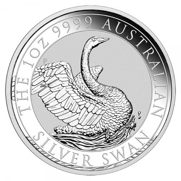 Ankauf: Australian Swan 2020, Silbermünze 1 Unze (oz)