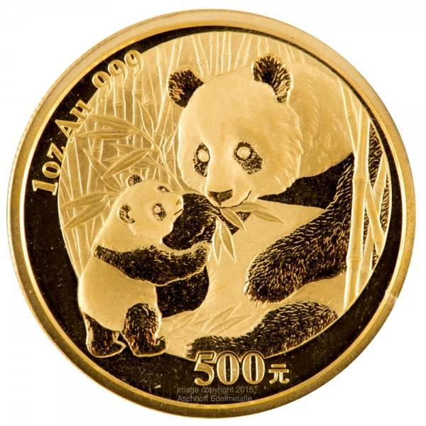 Ankauf: China Panda 2005, Goldmünze 1 Unze (oz)