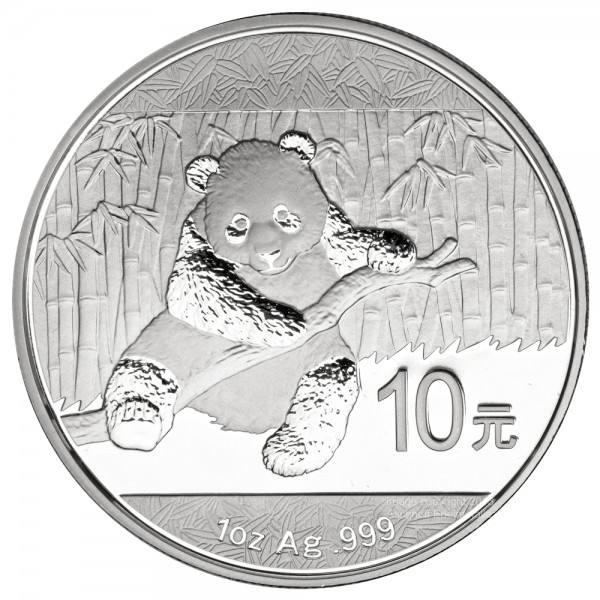 Ankauf: China Panda 2014, Silbermünze 1 Unze (oz)