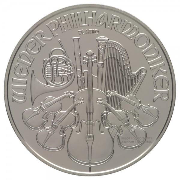 Ankauf: Wiener Philharmoniker, Platinmünze 1 Unze (oz), diverse Jahrgänge-