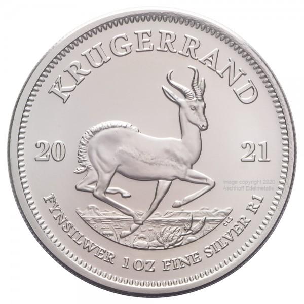 Krügerrand 2021, Silbermünze 1 Unze (oz)