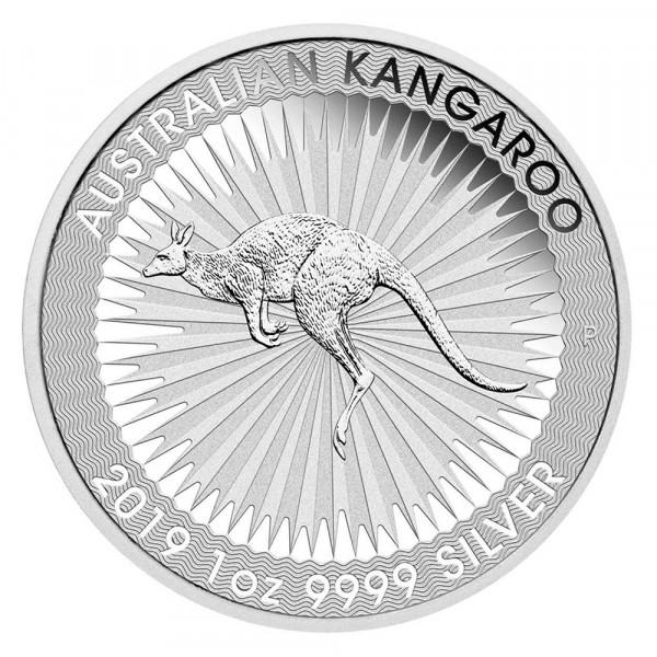 Australian Kangaroo 2019, Silbermünze 1 Unze (oz)