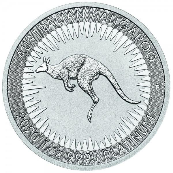 Ankauf: Australian Kangaroo, Platinmünze 1 Unze (oz), diverse Jahrgänge
