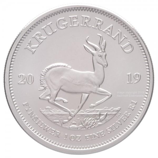 Krügerrand 2019, Silbermünze 1 Unze (oz)