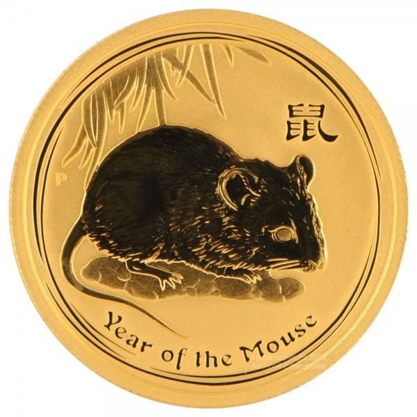 Ankauf: Lunar II 2008 Maus, Goldmünze 1 kg