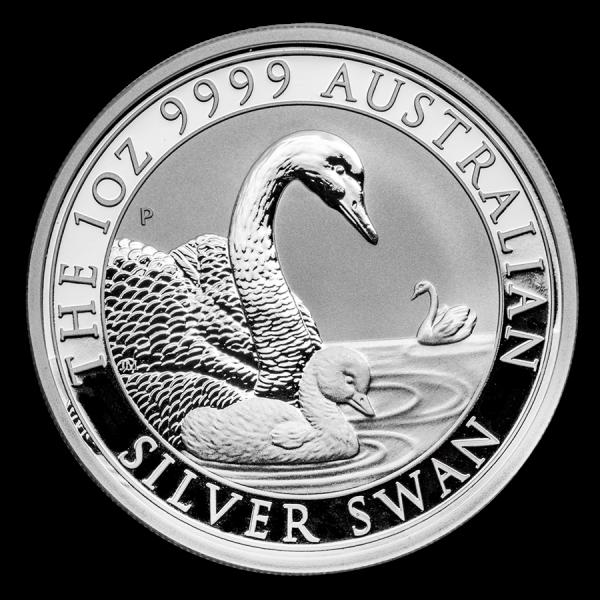 Ankauf: Australian Swan 2019, Silbermünze 1 Unze (oz)