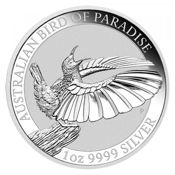 Australian Bird of Paradise 2018, Silbermünze 1 Unze (oz)