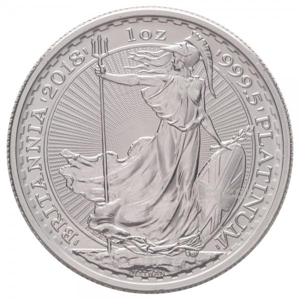Ankauf: Britannia, Platinmünze 1 Unze (oz), diverse Jahrgänge