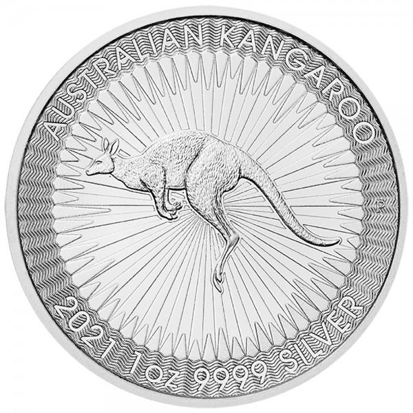 Australian Kangaroo 2021, Silbermünze 1 Unze (oz)