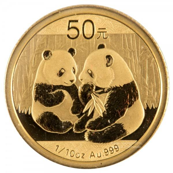 Ankauf: China Panda 2009, Goldmünze 1/10 Unze (oz)