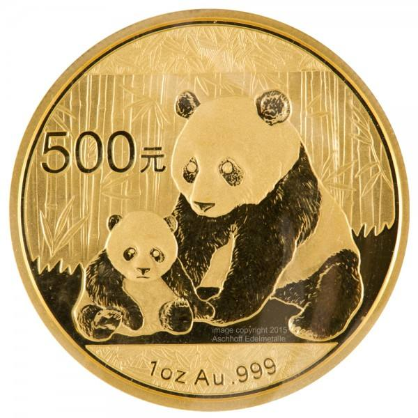 Ankauf: China Panda 2012, Goldmünze 1 Unze (oz)