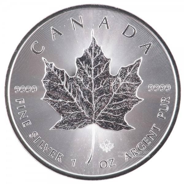 Maple Leaf 2017, Silbermünze 1 Unze (oz) Neuware