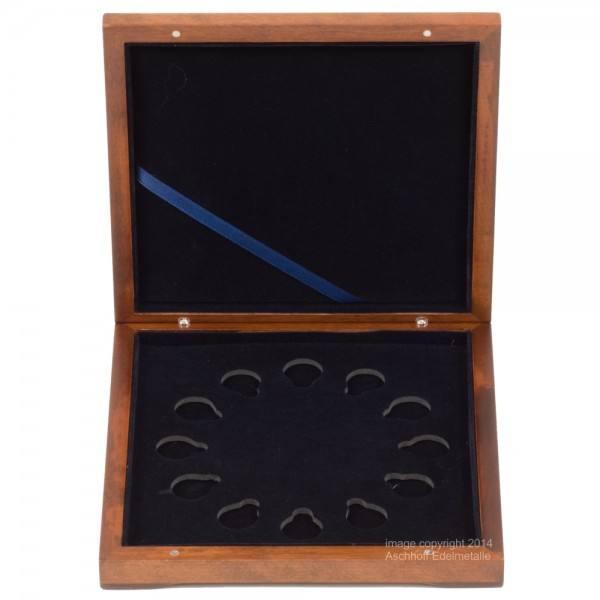 Münzbox für Lunar II Serie 12 x 1/10 Unze (oz) Goldmünzen