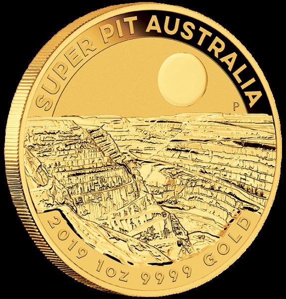 Ankauf: Super PIT 2019, Goldmünze 1Unze ( oz )