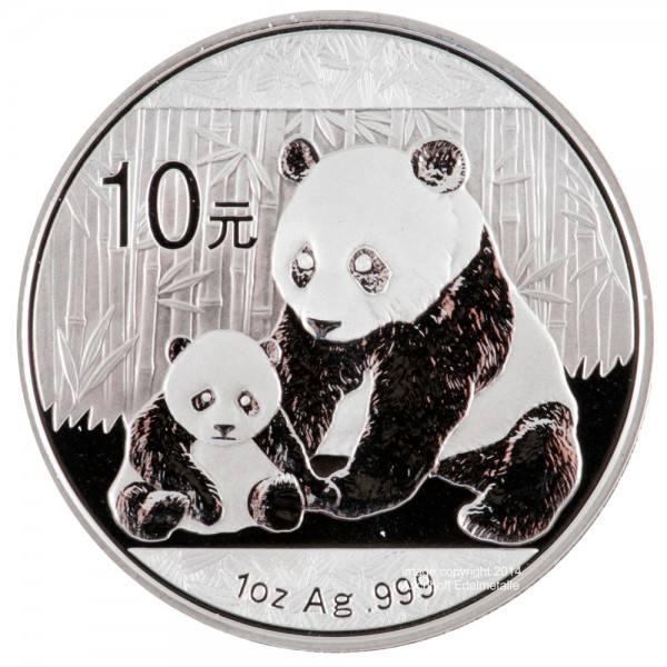 Ankauf: China Panda 2012, Silbermünze 1 Unze (oz)