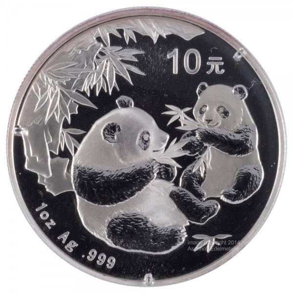 Ankauf: China Panda 2006, Silbermünze 1 Unze (oz)