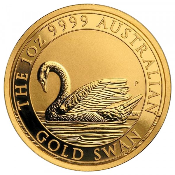 Ankauf: Australian Swan 2017, Goldmünze 1 Unze (oz)