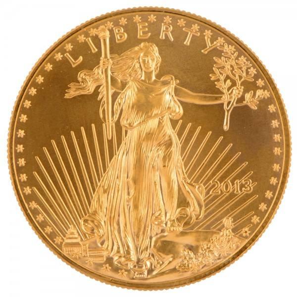 Ankauf: American Eagle, Goldmünze 1 Unze (oz), diverse Jahrgänge