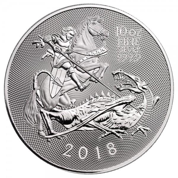 Ankauf: Valiant 2018, Silbermünze 10 Unzen (oz)