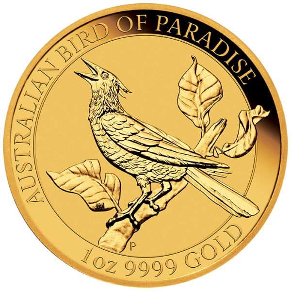 Ankauf: Australian Bird of Paradise 2019, Goldmünze 1 Unze (oz)